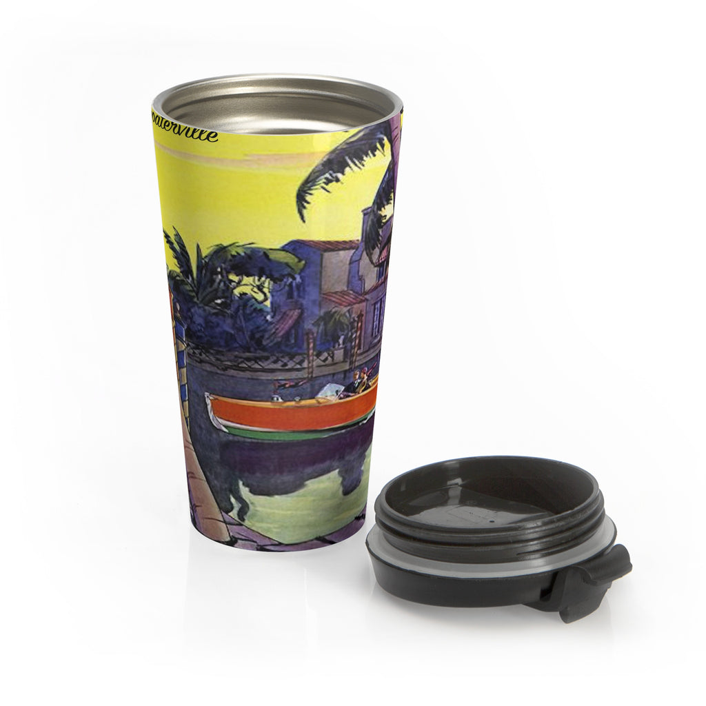 Boat Cruisin' in SoCal Stainless Steel Travel Mug