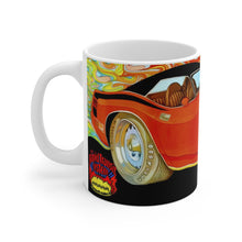 1970 Plymouth Hemi Cuda White Ceramic Mug by SpeedTiques