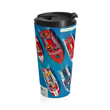 1960 Century Lineup Stainless Steel Travel Mug by Retro Boater