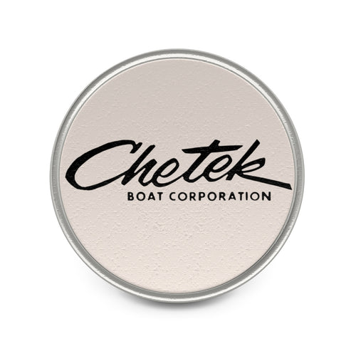 Chetek Boats Metal Pin by Classic Boater