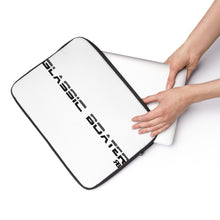 Classic Boater Laptop Sleeve