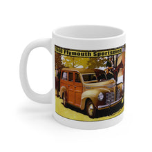 1940 Plymouth Sportsmen White Ceramic Mug by SpeedTiques
