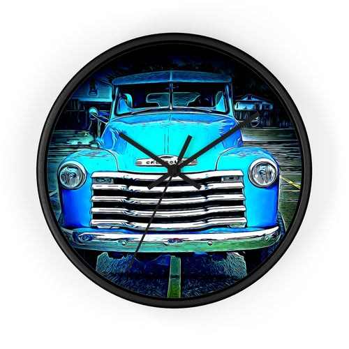 1952 Chevy Pickup Wall clock by SpeedTiques