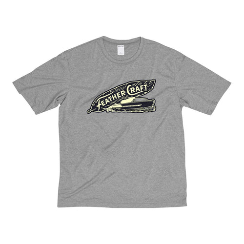 Feathercraft Men's Heather Dri-Fit Tee by Retro Boater
