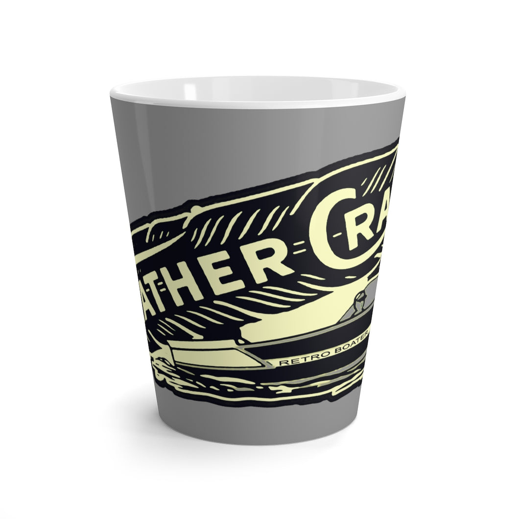 Feathercraft Latte mug by Retro Boater