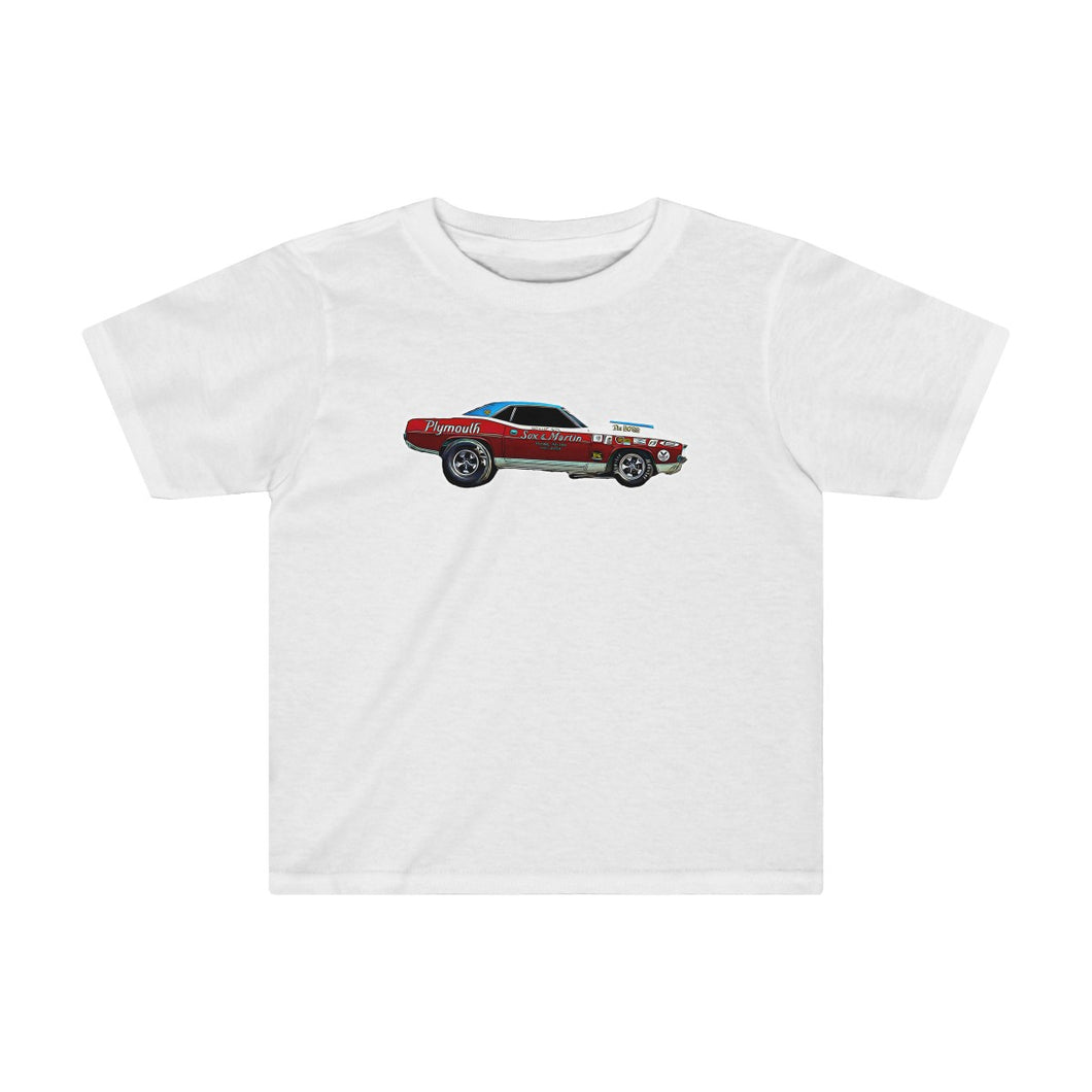 1971 Plymouth Hemi Cuda Kids Tee by SpeedTiques