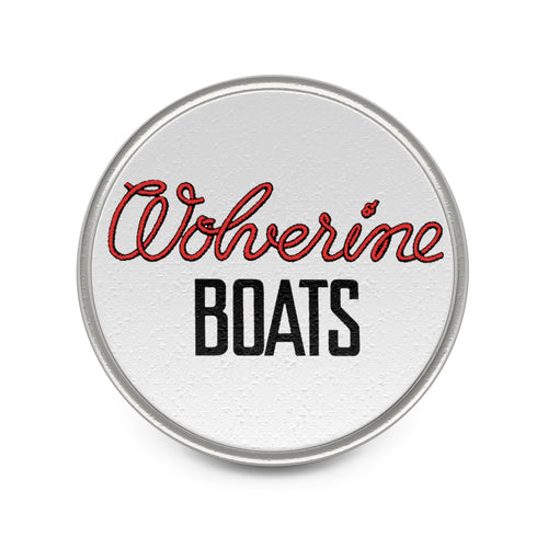 Wagemaker Wolverine Boats Metal Pin By Classic Boater