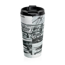 Vintage Pre-Race Stainless Steel Travel Mug