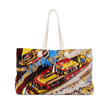 Vintage Chris Craft Cruiser Art Weekender Bag by Retro Boater