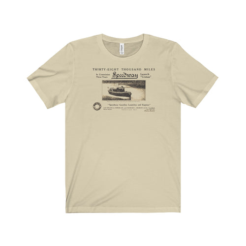 Speedway Boat and Engine Co. T-shirt by Retro Boater