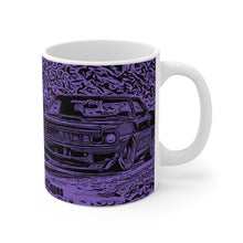 1971 Plymouth Cuda White Ceramic Mug by SpeedTiques