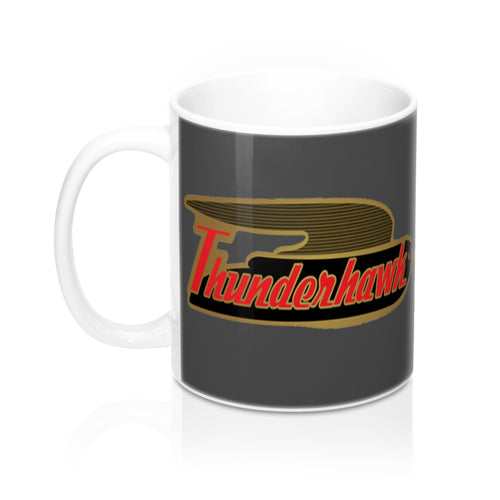 1959 Larson Thunderhawk Mug 11oz by Retro Boater
