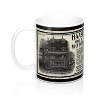 Haase Engine Co. Milwaukee WI 11oz Mug by Retro Boater