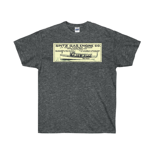 Sintz Gas Engine Co by Retro Boater Unisex Ultra Cotton Tee
