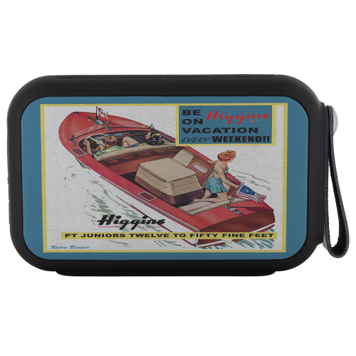 Higgins Boat Bluetooth Speaker by Retro Boater