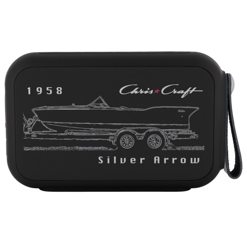 1958 Chris Craft Silver Arrow Bluetooth Speaker by Retro Boater