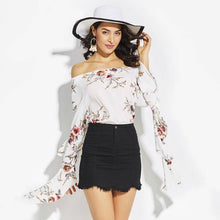 Off-The-Shoulder Avea Beach Top