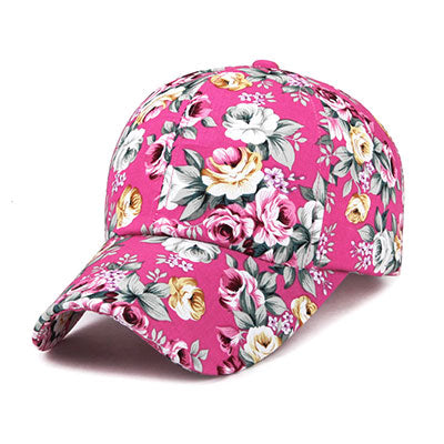 Fiji Floral Dad-Hat