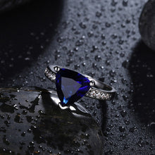 Polynesian Triangle Sapphire Ring