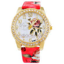 Floral Ladies Watch