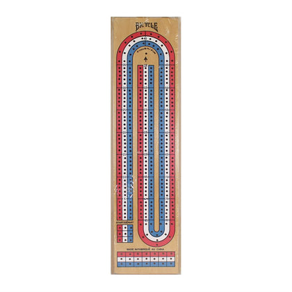 Bicycle 3-Track Cribbage Board