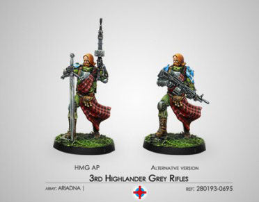 Infinity: 3rd Highlander Grey Rifles (HMG)