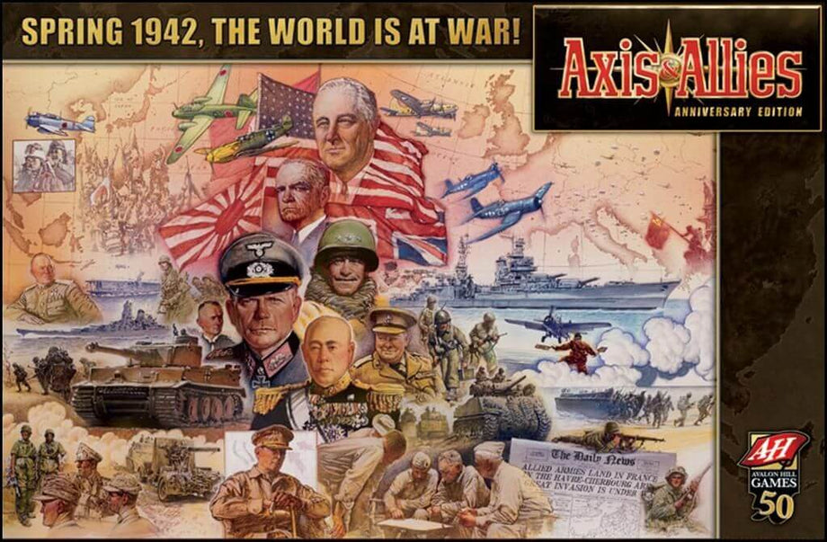 Axis & Allies Anniversary Edition (Previously Played) (Rare)