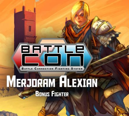 BattleCON: Merjoram Alexian Crown Princess of Jeffreys Expansion