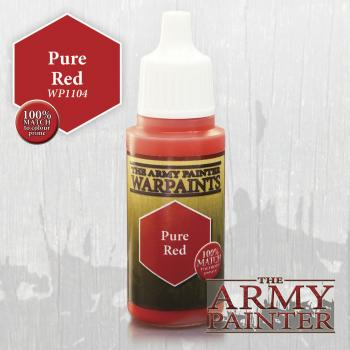 Warpaints: Pure Red 18ml