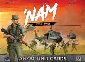 'NAM: ANZAC Forces in Vietnam Unit Cards - ANZAC