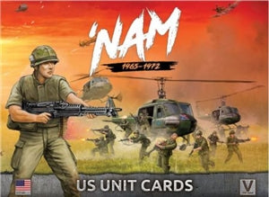 'NAM:  US Forces in Vietnam Unit Cards - US