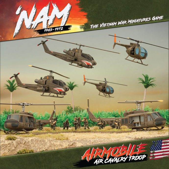 'NAM:  Air Cavalry Troop - US