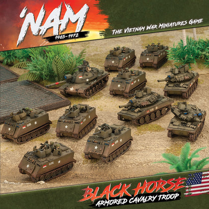 'NAM:  Black Horse Cavalry Troop - US