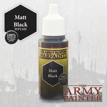 Warpaints: Matt Black 18ml