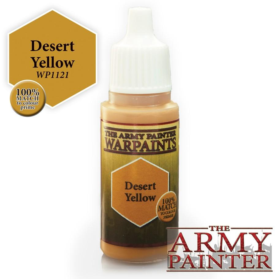 Warpaints: Desert Yellow 18ml