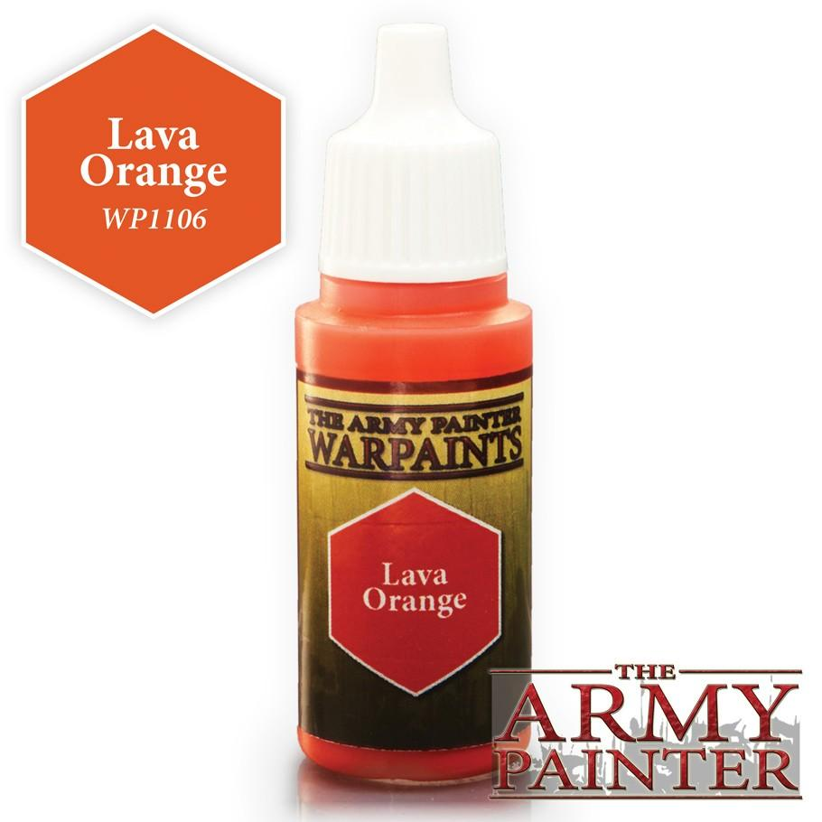 Warpaints: Lava Orange 18ml