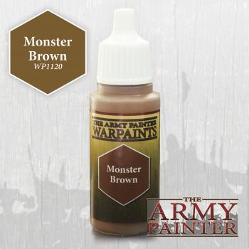 Warpaints: Monster Brown 18ml
