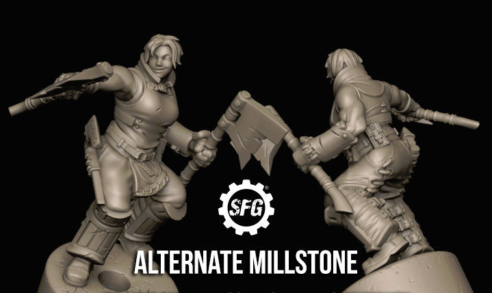 Guild Ball: The Farmer's Guild - Alternate Millstone Limited Edition
