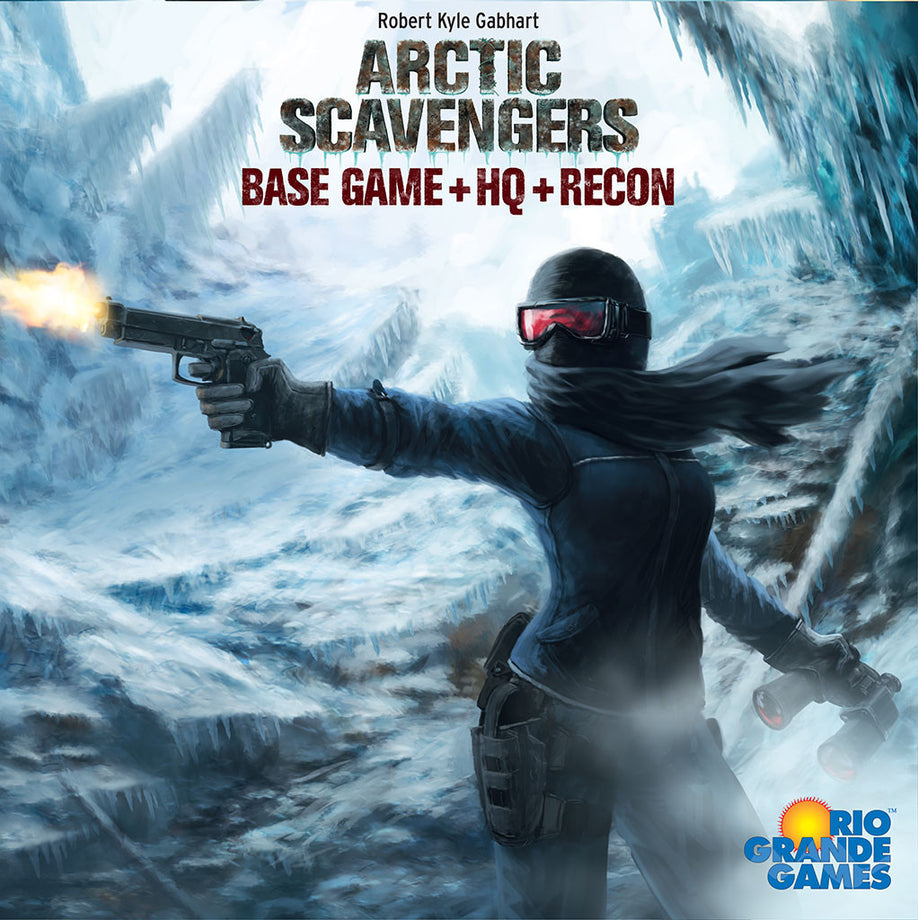 Arctic Scavengers: Base Game + HQ + Recon (Previously Played)