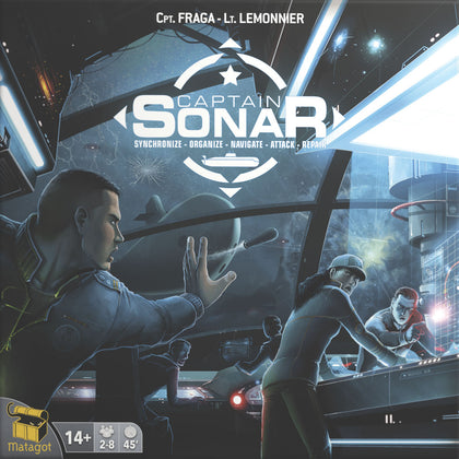 Captain Sonar (Minor Box Damage)