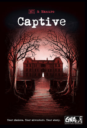 Captive - Graphic Novel Adventures (Hardcover)