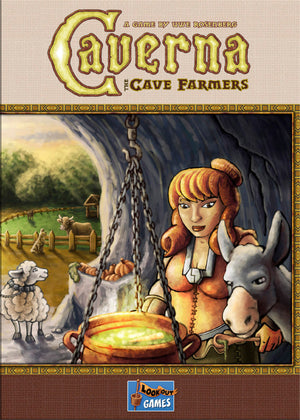 Caverna: The Cave Farmers (Minor Box Damage)