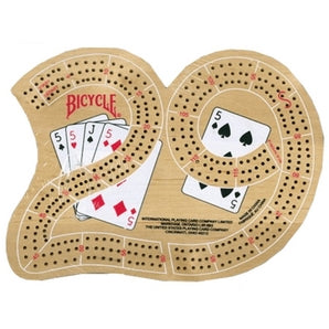 Bicycle Cribbage Board  (29-shape)