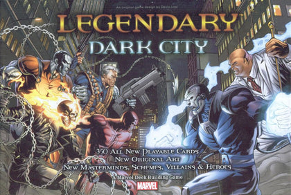 Marvel Legendary: Dark City Expansion