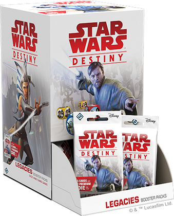 Star Wars: Destiny - Legacies Booster Box (36 booster packs)