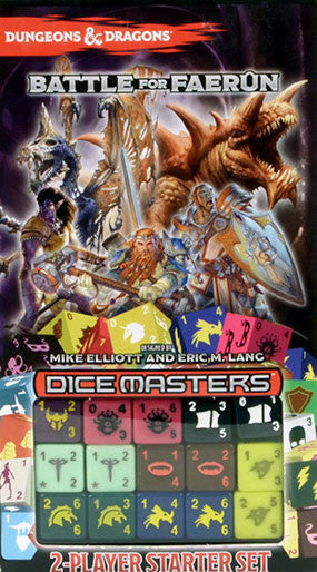 Dungeons & Dragons Dice Masters: Battle for Faerûn + Booster Dice & Cards (Previously Played)