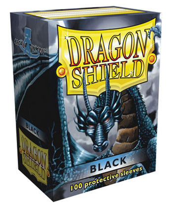 Dragon Shield Sleeves (Black)
