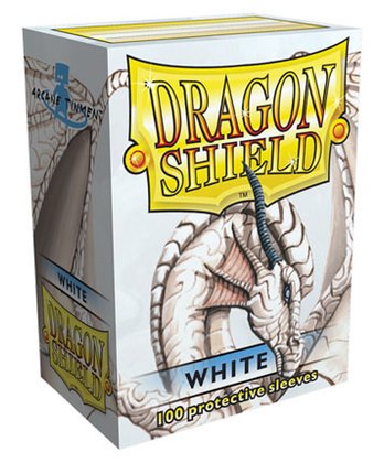 Dragon Shield Sleeves (White)