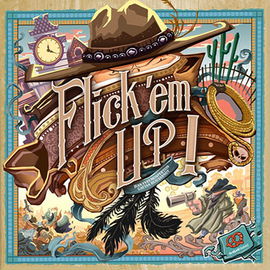 Flick 'em Up! Base Game + Stallion Canyon Expansion (Previously Played)