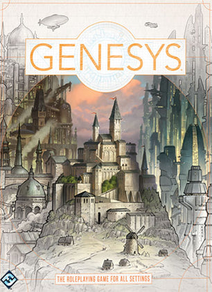 Genesys: A Narrative Dice System Core (Hardcover)
